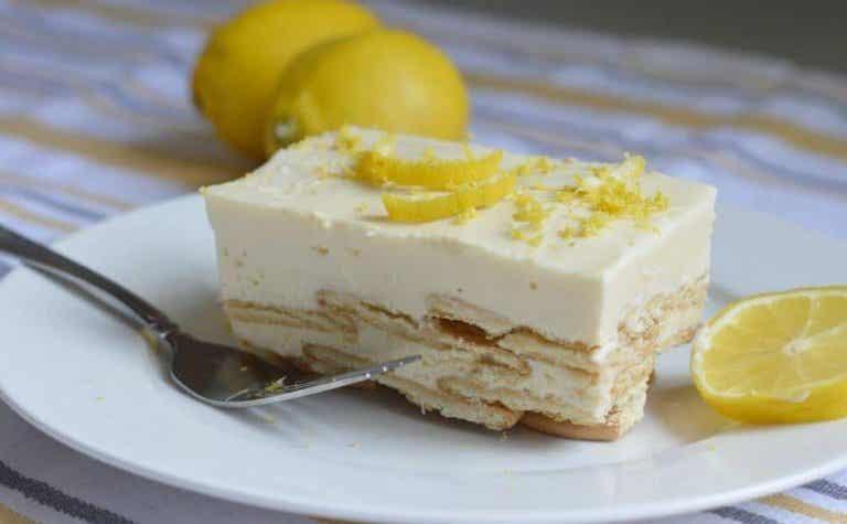 Einfach göttlich: Zitronen-Charlotte!