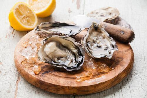 gefährliche Nahrungsmittel Austern