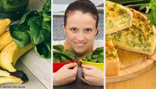 5 gesunde Rezepte mit Spinat für jeden Tag