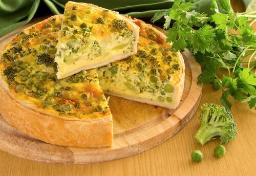 gesunde Rezepte mit Spinat Quiche