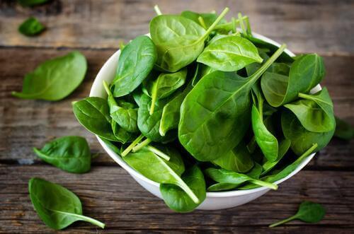 gesunde Rezepte mit Spinat