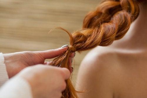 Haare flechten für langes und gesundes Haar