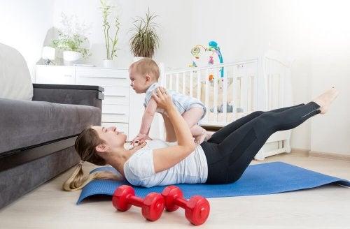 mit 35 Mutter - gesünderer Lebensstil