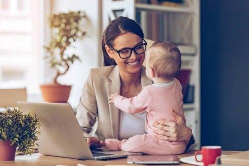 mit 35 Mutter - größere wirtschaftliche Stabilität