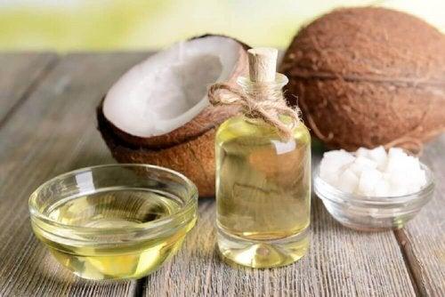natürliche Feuchtigkeitsspender Kokosöl