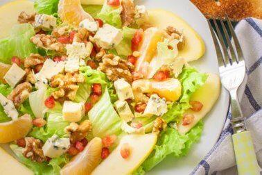 Intelligentes Abendessen ohne Hunger zu leiden