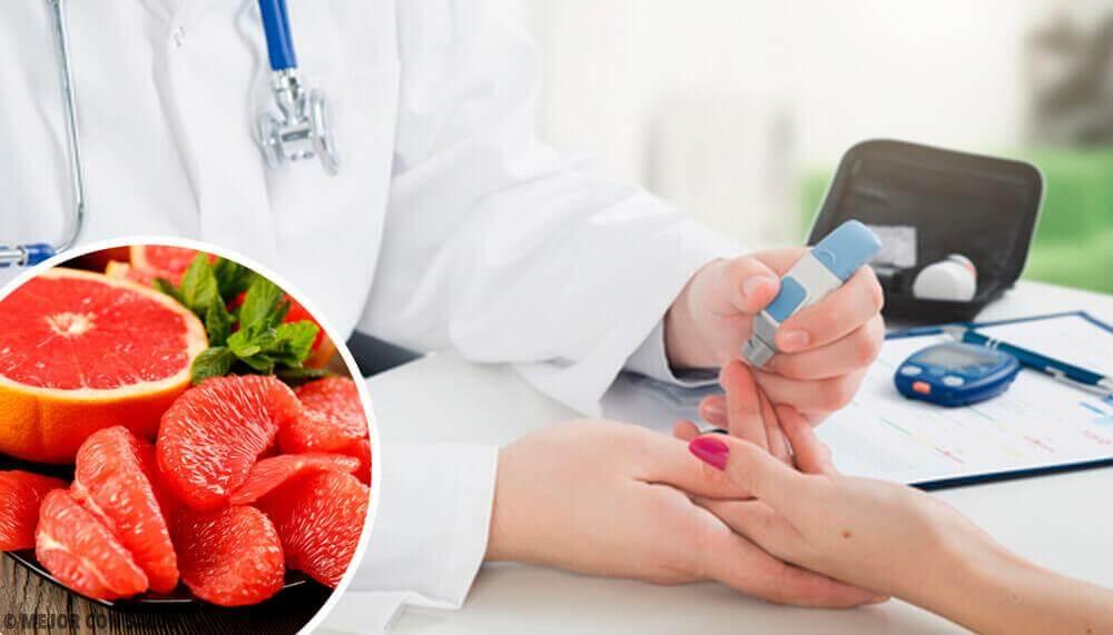 Diabetes vorbeugen mit Grapefruit