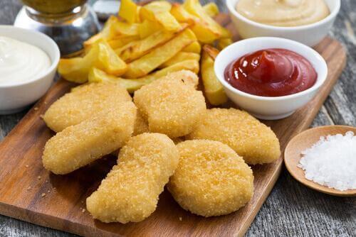 Chicken Nuggets - schädliche Lebensmittel
