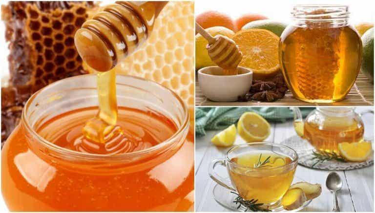 5 Heilmittel mit Honig, die deine Gesundheit verbessern