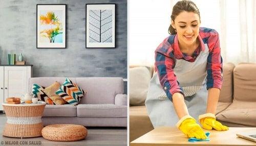 5 einfache putzgewohnheiten f r dein zuhause besser gesund leben. Black Bedroom Furniture Sets. Home Design Ideas
