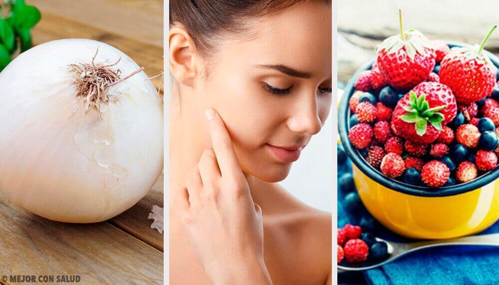 8 Lebensmittel die deiner Haut Kollagen spenden!