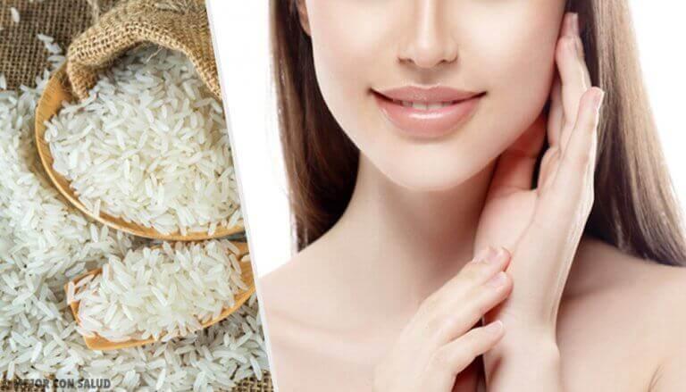 Beneidenswerte Haut dank Reis