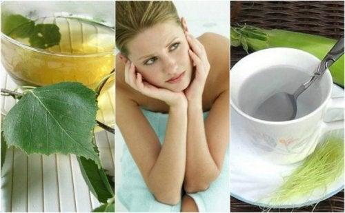 Blasenentzündung bekämpfen - 5 Teesorten!