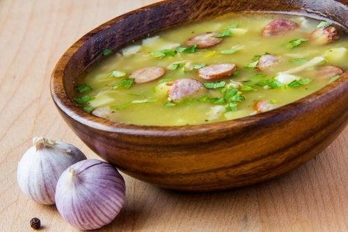 schnelle Suppen zum Abendessen