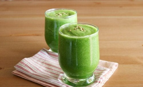 Grüner Smoothie - Vorteile von Smoothies.