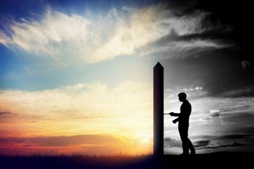 unsere Narben heilen, indem wir die Gegenwart aufschließen und die Vergangenheit zurücklassen