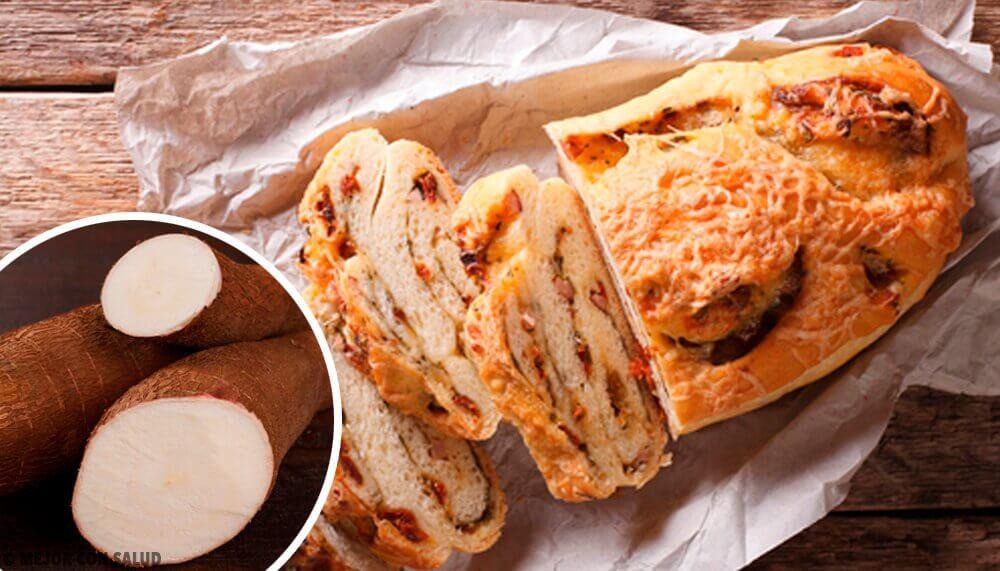 Maniok-Brot mit Hafer und Schokolade ohne Gluten, Laktose oder Zucker