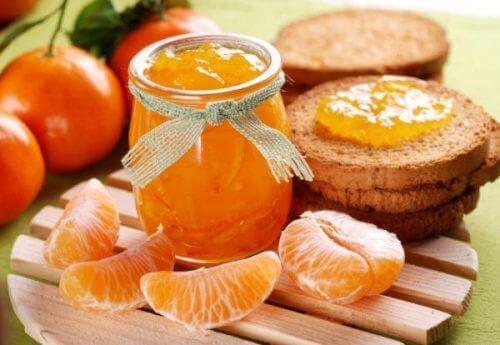 Rezept für gesunde Marmelade.