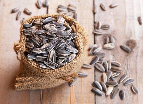 Samen enthalten gesunde Fette.