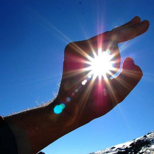 Sonnenbrille gegen schädliche Strahlen