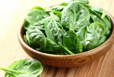 Wraps mit Spinat