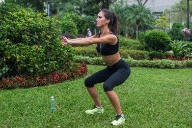 Squat-Übungen, Squat Jumps