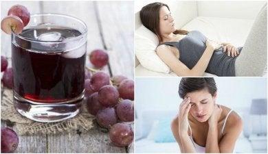 6 Vorteile von Traubensaft