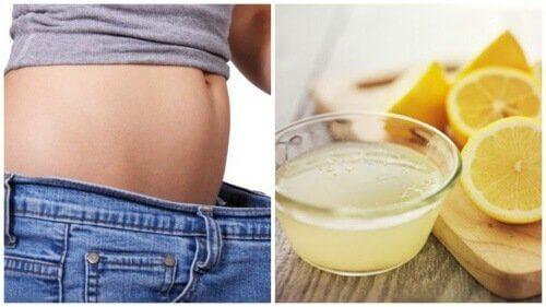 Wie Zitrone beim Abnehmen helfen kann