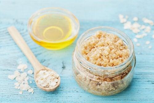Hautpflege mit natürlichen Peelings