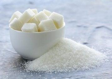 Zukcker hilft bei dunklen Hautflecken