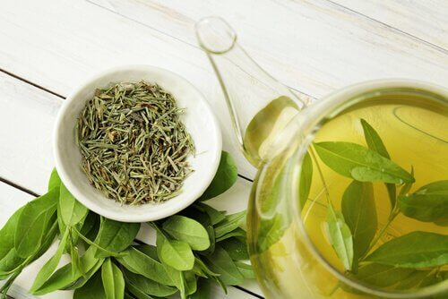 Grüner Tee hilft bei einer Leberentzündung