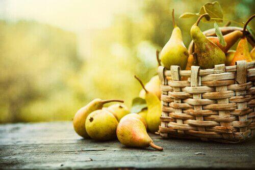 Birnen helfen bei einer Leberentzündung