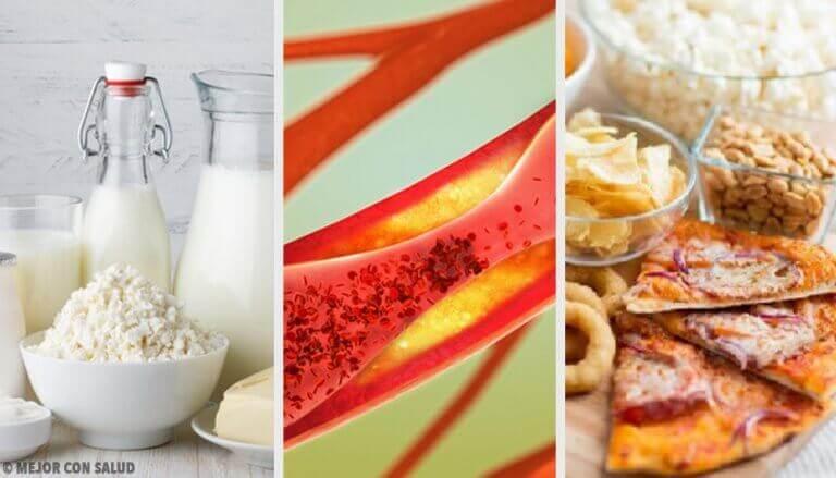 Lebensmittel, die deine Blutgefäße verstopfen