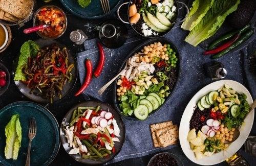 Fettarme Diäten für einen schnellen Stoffwechsel