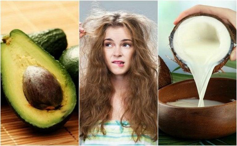 Die 5 besten natürlichen Produkte gegen krauses Haar