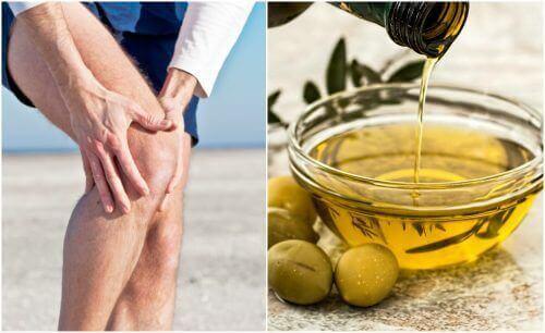 Gelenkschmerzen lindern mit Oliven-Zitronen-Öl