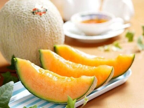 gesunde Desserts mit Melone