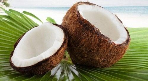 gesunde Desserts mit Kokosnuss