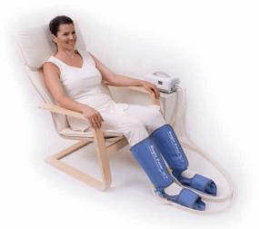 Kompression kann gegen das Restless-Legs-Syndrom helfen.