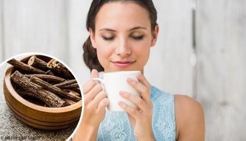 Süßholztee zur Behandlung von Reflux