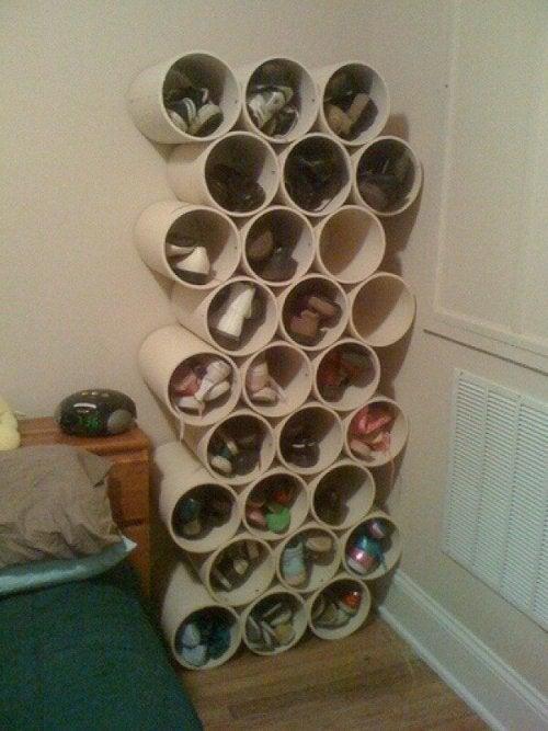 Wie du deine eigenen Schuhschränke aus Karton bauen kannst