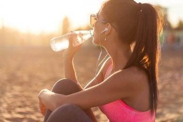Stoffwechsel anregen durch kaltes Wasser