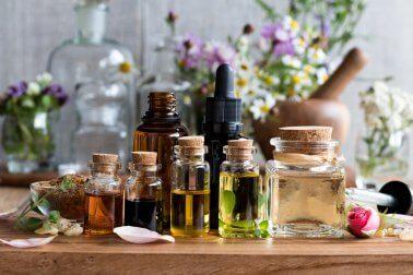 Ätherische Öle gegen Kopfweh