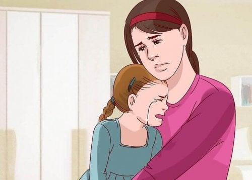 Als Kind lernen wir Liebe zu zeigen
