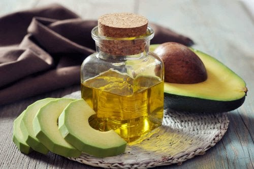 Avocado und Olivenöl
