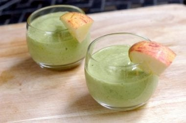 Avocadosmoothies mit Äpfeln