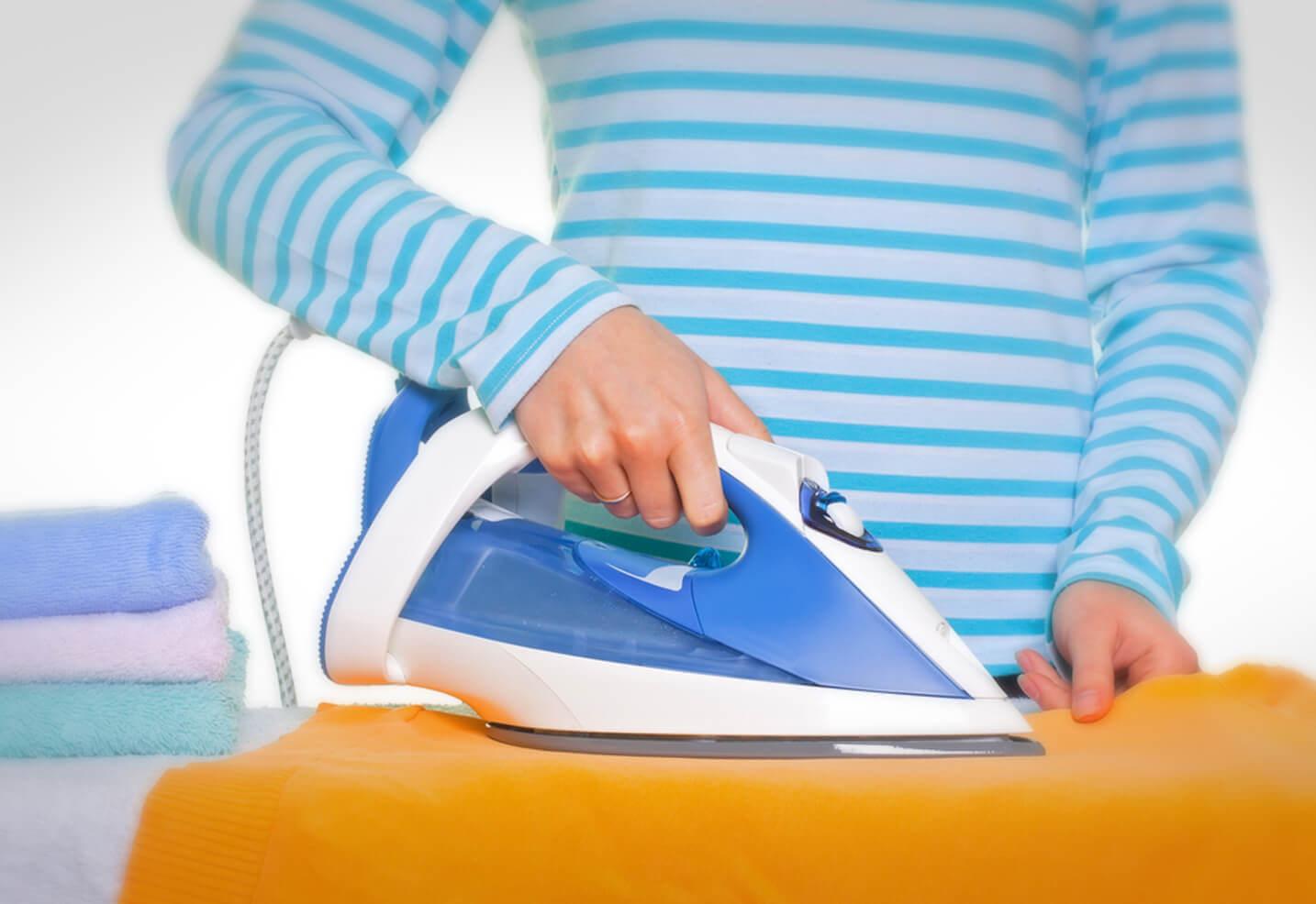bügeleisen reinigen