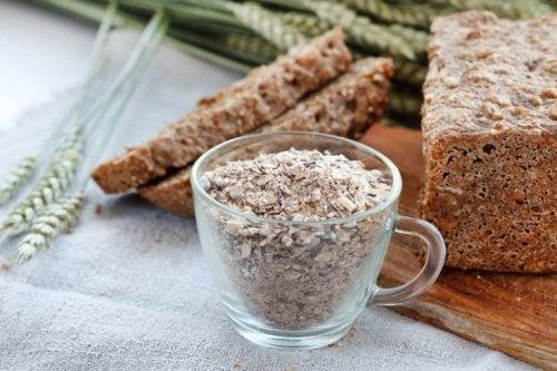 viele Ballaststoffe in Brot