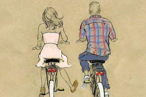 Ein Fahrrad passend zum Vintagestil