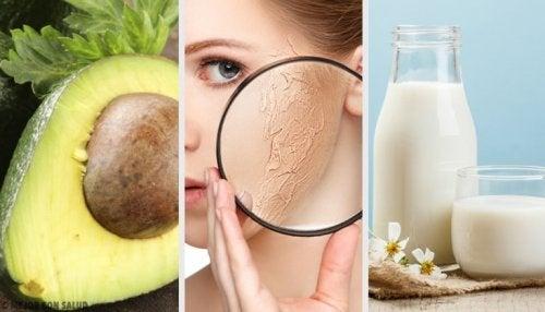 Feuchtigkeitspflege für trockene Haut